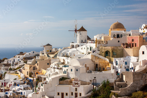 Fototapety, obrazy: Santorini Oia Greece Holiday