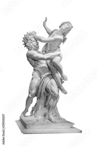Photo The Rape of Proserpina Bernini Masterpiece Isolated Photo