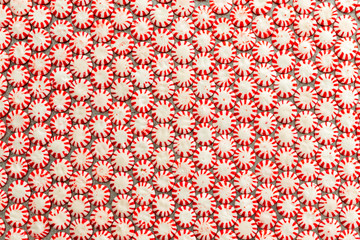 Background texture and pattern of starlight candy