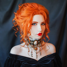 Dark Halloween Attire. Gothic ...