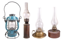 Old Gasoline Lamps