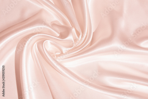 Pinturas sobre lienzo  The texture of the satin fabric of pink color for the backgroundит