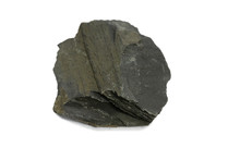 Oil Shale Mineral Stone Isolat...