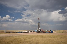 Crude Oil Exploration Well Sit...