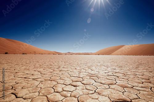 Leinwand Poster Namib