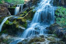 Wasserfall Im Snowdonia NP
