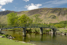 Scenery At Foot Of Derwentwater Near Borrowdale, Lake District