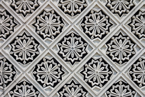 Fotografía  Carved tile at the Malaysian Royal Palace