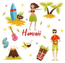 Traditional Symbols Of Hawaiia...
