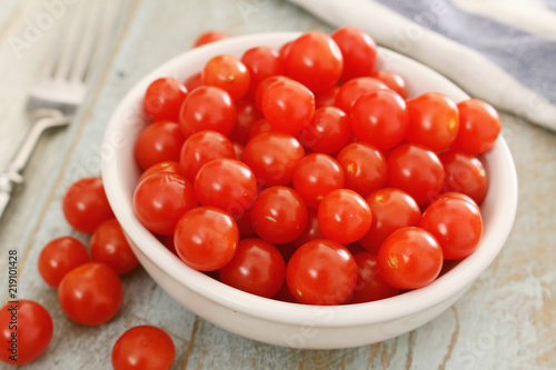 Fotografía baby tomato tomberries