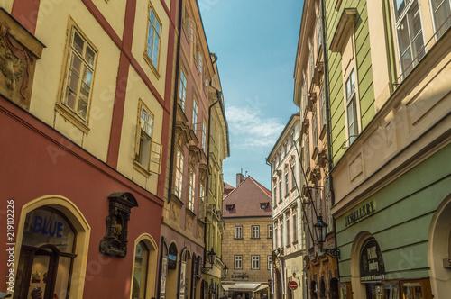 Fototapeta Praga ulica-w-pradze