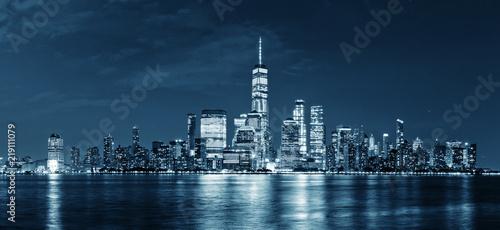 Foto op Aluminium New York skyline of modern city new york