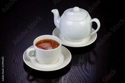Staande foto Thee Hot cup of tea