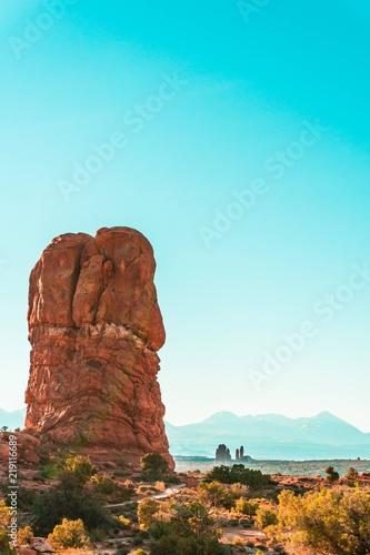 Spoed Foto op Canvas Turkoois The desert