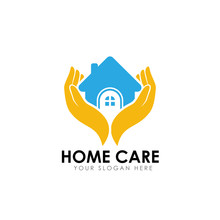 Home Care Logo Design Vector I...