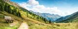 Fototapeta Do pokoju - panorama montano delle dolomiti