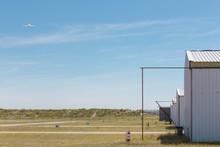 Aerodrome In The Field, Plane In A Corner