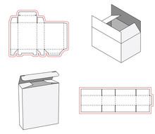 Simple Box Packaging Die Cut O...