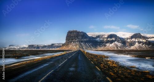 Foto op Aluminium Arctica Paysage du sud de l'Islande