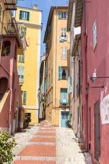 Fototapeta na wymiar Old town Menton in Provence, France