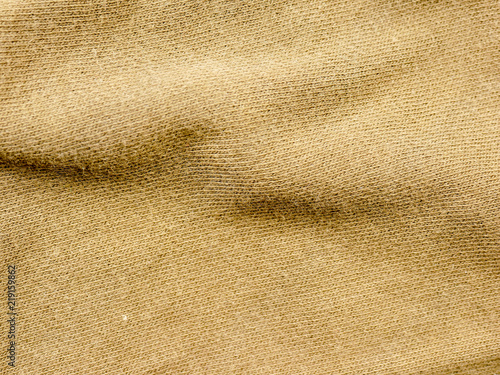 Tuinposter Stof Olive green fabric cloth background texture