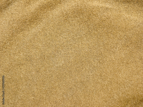 Fotobehang Stof Olive green fabric cloth background texture