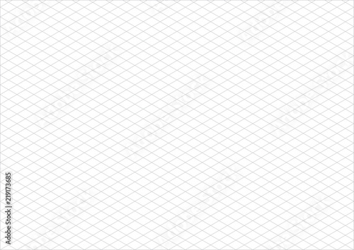Isometric Grid Paper A3 Landscape Vector Buy This Stock Vector And