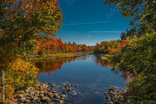 Fotografie, Obraz  Kayak Adventures in Fall, Acadia National Park
