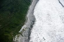 Root Glacier In Wrangell-St Elias National Park, Alaska