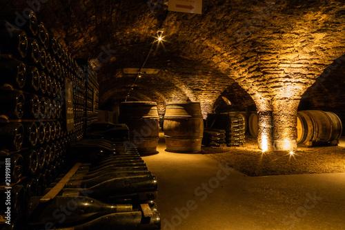 Les caves Patriarche de Beaune, en Côte-d'or, les plus grandes caves de Bourgogne