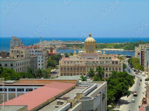 Papiers peints Paris Vue de La Havane, Cuba