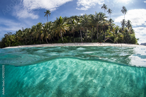Tranquil Tropical Island in Raja Ampat