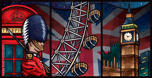 Obraz na plátně  London