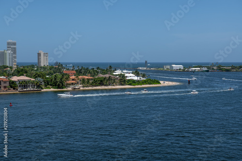 Fotografie, Tablou  View From Port Everglades