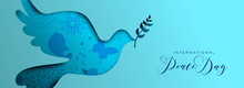International Peace Day Dove Social Media Banner