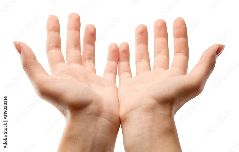 Fototapeta Hands Cupped