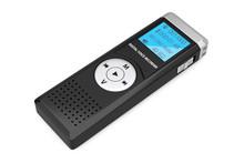 Journalist Digital Voice Recorder Or Dictaphone. 3d Rendering
