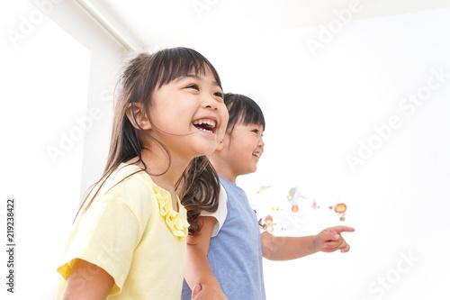 Fotografía  友達と遊ぶ女の子