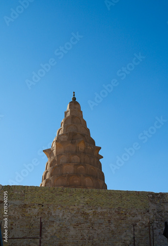 Exterior view to prophet Ezekiels Tomb at Al Kifl, Iraq фототапет