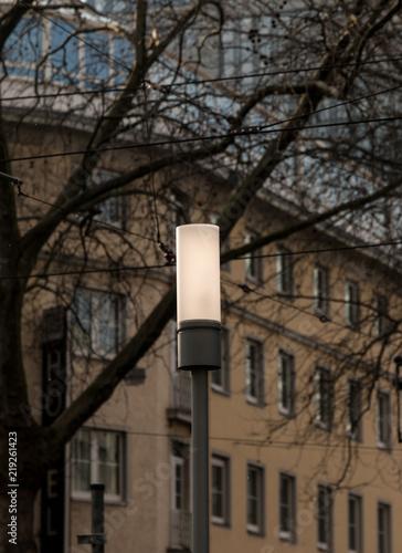 Foto op Plexiglas Chicago Street lamp
