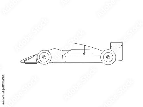 Formula 1 Race Car Line Drawing Sketch Vector Buy This Stock Vector And Explore Similar Vectors At Adobe Stock Adobe Stock