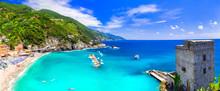 Coastal Italy Series- National Park Cinque Terre And Picturesque Monterosso Al Mare In Liguria