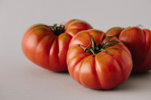 Heap Of Big Ripe Tomatoes