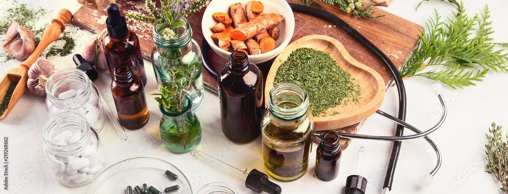 Fototapety, obrazy: Homeopathy.