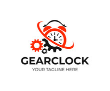 Alarm Clock And Gears With Twi...