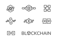 Blockchain Icon Set