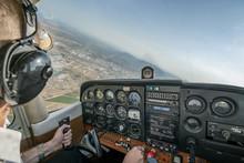 Pilot Flying Light Aircraft.