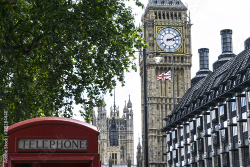 Fotografie, Obraz  Clock tower, Westminster Palace