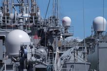 海上自衛隊海洋観測艦のレドーム