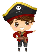 Pirate Kid Boy Costume Point R...